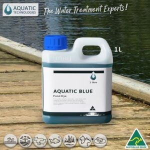 Aquatic Blue water colourant for UV water shield