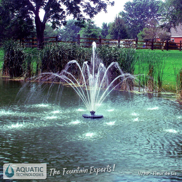 aerating-dam-water-fleur-de-lis-fountain-australia