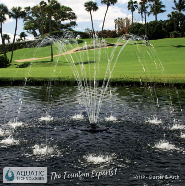 aeration-pumps-cluster-arch-fountain-australia