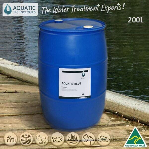 lake-dye-reservoir-aquatic-blue-200L-australia
