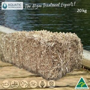 Large Aquatic Barley Straw Bale 20kg
