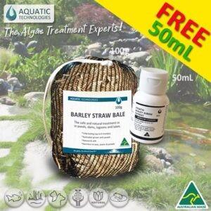 Aquatic Barley Straw