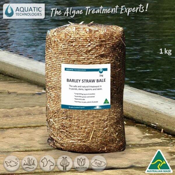 Aquatic Barley Straw Bale 1kg