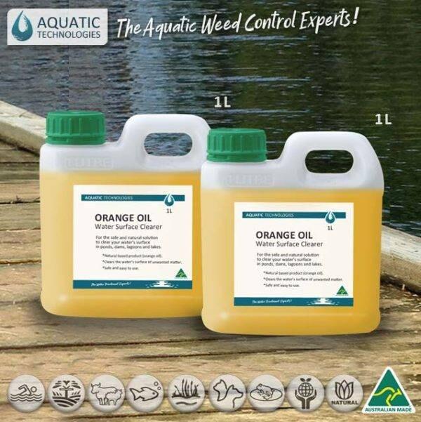 Orange Oil - Water Surface Clearer